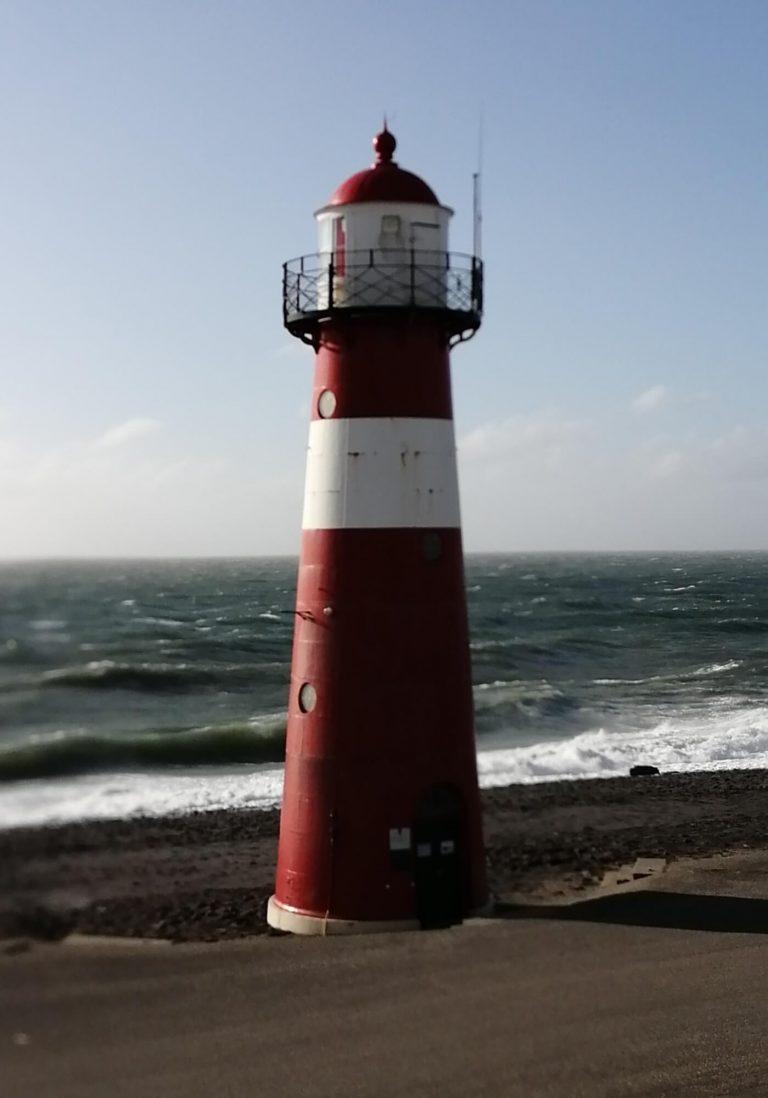 Tod in Zeeland Leuchtturm Westkapelle